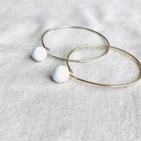 juju made /porcelain pearl  bracelet   /ジュジュメイド/ ポーセリンブレスレット