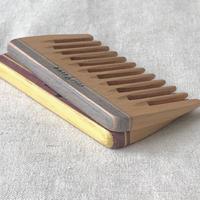 kostkamm / mini hair comb / 9cm / extra wide /21b /  コストカム/木製櫛/9cm