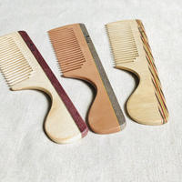 kostkamm /wood   hair comb / 16cm/ コストカム/木製櫛/16cm