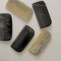Kostkamm / horn pocket  comb /19H /  8cm / wide