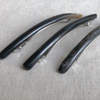 kostkamm / extra slender horn hair clip 10cm / コストカム / 水牛角ヘアーバレッタ/10cm