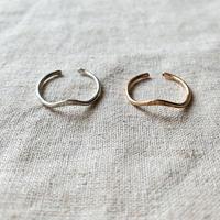 cinq / Dune ring  / gold filled , rose gold filled