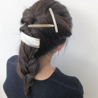kostkamm / horn hair clip 6cm / コストカム / 水牛角ヘアーバレッタ/6cm