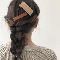 kostkamm /wood   hair clip  / 6cm / 9504 / コストカム/木製バレッタ/6cm