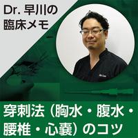 穿刺法(胸水・腹水・腰椎・心嚢)のコツ~Dr.早川の臨床メモ