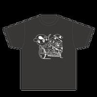 Tシャツ(自転車・ブラック)