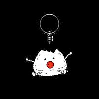 ラバーキーホルダー(むすび)