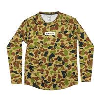 【SAYSKY】ランニングTシャツ Camo Pace LS - Duck Camo [ユニセックス]
