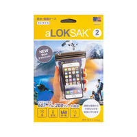 【aLOKSAK】防水・防塵ケース XS・サイズ 2枚入