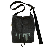 sweat sacoche bag black