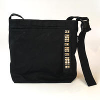salo canvas sholder bag   w/ studs (small)