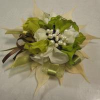 リボンコサージュ(真珠の森)