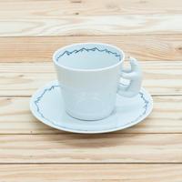 芦田尚美 / AMETSUCHI シロクマコーヒー カップ&ソーサー