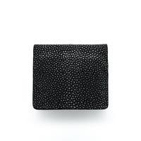 BOX型小銭入れ【黒】コインケース