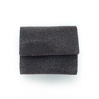 三つ折りコンパクト財布【紫】