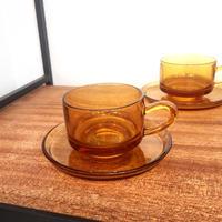 ADERIA GLASS カップ&ソーサー