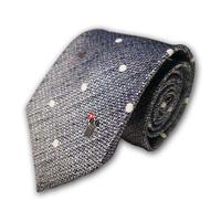 西陣織ネクタイ ブルー ねずみ(商品番号:050920)