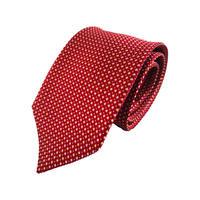 西陣織ネクタイ 赤 ドット(商品番号:051722)