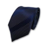 西陣織ネクタイ 紺 ストライプ(商品番号:050823)