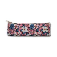西陣織ペンケース 藍色 桜(商品番号:020406)