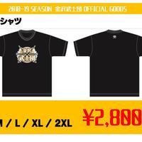 金沢武士団ロゴTシャツ【ブラック】