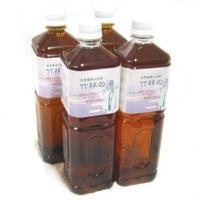 精製竹酢液100% 竹林の湯 1Lx4本セット