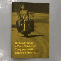 """Richard Prince + Zach Sebastian """"They Started It... And We'll Finish It"""""""