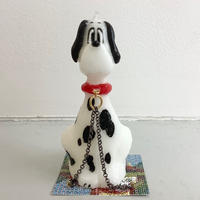 """OLGA goose candle """"SUMMONED DOG"""""""