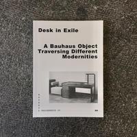 DESK IN EXILE-Bauhaus Taschenbuch 20