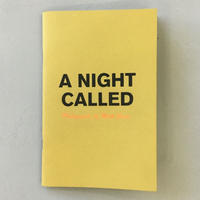 "Matt Goias ""A NIGHT CALLED"""