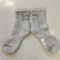 "MY LOADS ARE LIGHT × ALWAYTH ""FOREST CAMP"" short sox"