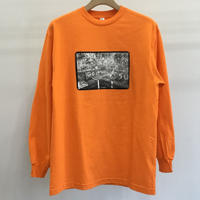 Grace Ahlbom L/S Tee Orange