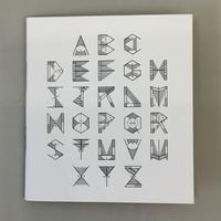 "David M. Cook ""Alphabet Zine"""