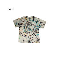 Silent Sound S/S Circle Tee Hand Dye -Melt Down- XLサイズ