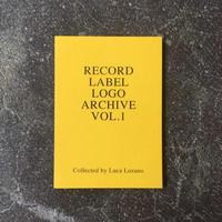 """Luca Lozano """"RECORD LABEL LOGO ARCHIVE VOL.1"""""""