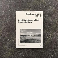 ARCHITECTURE AFTER SPECULATION-Bauhaus paperback No.12