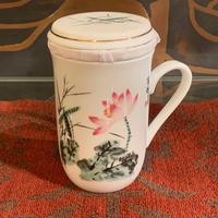 マグカップ(茶漉し付き)