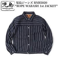 """児島ジーンズ RNB5020 """"ROPE WABASH 1st JACKET"""""""