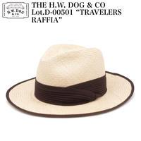 "THE H.W. DOG & CO D-00501 ""TRAVELERS RAFFIA"""