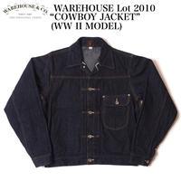 """WAREHOUSE Lot.2010 """"COWBOY JACKET"""" (WW II MODEL)"""