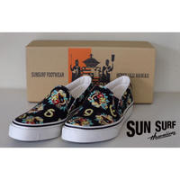 SUN SURF  SS02590 SLIP-ON SHOES MACINTOSH UKULELE スリップオンシューズ