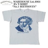 """WAREHOUSE Lot.4064 2ND-HAND B's T-SHIRT """"No.1 BEETHOVEN"""""""