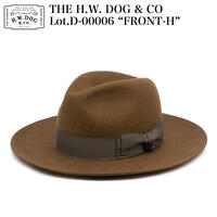 """THE H.W. DOG & CO D-00006 """"FRONT-H"""""""