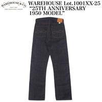 "WAREHOUSE Lot.1001XX-25 ""25TH ANNIVERSARY 1950 MODEL"""