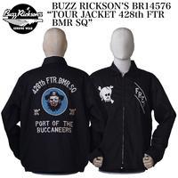 "BUZZ RICKSON'S BR14576 ""TOUR JACKET 428th FTR BMR SQ"""