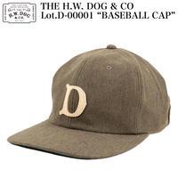 "THE H.W. DOG & CO D-00001 ""BASEBALL CAP"""