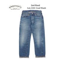 WAREHOUSE  2ND-HAND  Lot.1101 USED WASH