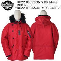 "BUZZ RICKSON'S BR14448 RED N-3B ""BUZZ RICKSON MFG CORP."" F-89 SCORPION"