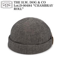 """THE H.W. DOG & CO D-00484 """"CHAMBRAY ROLL"""""""