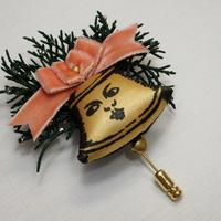 クリスマス限定ブローチ ベルの妖精